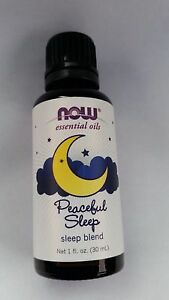 NOW Peaceful Sleep Essential Oils Sleep Blend 1 fl oz (30 mL)