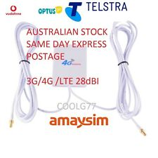28dBi 3G 4G LTE ANTENNA BOOSTER for TELSTRA NETGEAR NIGHTHAWK M1 MOBILE HOTSPOT