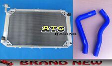 3 Rows Aluminum Radiator & Hose for Nissan Patrol GQ Y60 2.8 4.2 DIESEL TD42