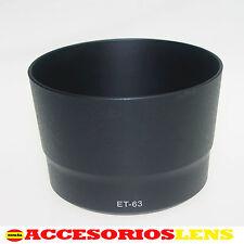 PARASOL PARA CANON  ET-63 PARA CANON EF-S 55-250mm f/4-5.6 IS Para STM