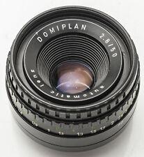 Domiplan Automatic Lens 2.8/50 50mm 50 mm 1:2.8 2.8 M42