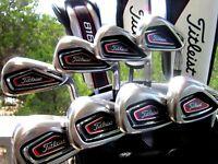 $1000 Titleist Golf 716 AP1 Irons Set 4i-Pw+Aw Regular-Flex Right-Handed RH
