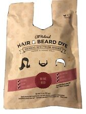 Hair And Beard Dye Wine Red Henna All Natural