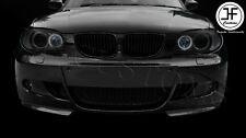 Fits BMW 1 SERIES E87 E81 04-13 Sport Pare-chocs 2X Véritable fibre de carbone SPLITTERS