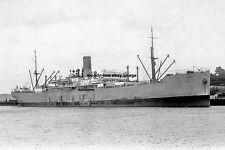 rp15609 - Port Line Cargo Ship - Port Melbourne , built 1914 - photo 6x4