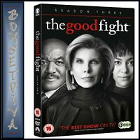 THE GOOD FIGHT COMPLETE SEASON 3  THIRD SEASON  ** BRAND NEW DVD ***