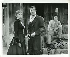 JOHN PAYNE ACTOR IN CHRISMAS FILM MIRACLE ON 34TH STREET SIGNED PHOTO AUTOGRAPH