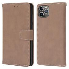 Matte Wallet Leather Flip Case Cover For iPhone 12 Pro 11 6 7 8 Plus X XR XS Max