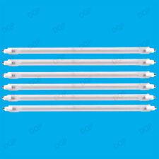 6x 400W Halogen Heater Replacement Tubes 195mm Fire Bar Heater Lamp Element Bulb