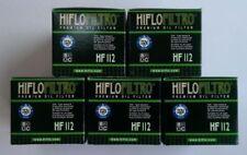 Kawasaki Z125 Pro (2017 To 2018) Hiflofiltro Filtre à Huile (Hf112) Pack de 5