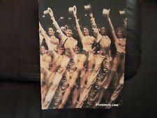 A Chorus Line program -- late 1980s -- NEAR MINT