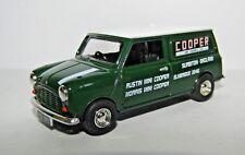VANGUARDS MINI COOPER VAN COOPER CAR COMPANY 1/43 VA14005