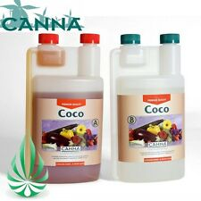 Hydroponics CANNA COCO A & B 1 L 1 Litre Grow Nutrient