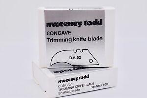 Concave Blades  -  Flooring Tools