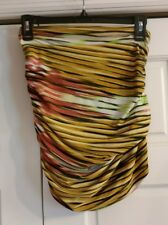 t bags los angeles size s SKIRT YELLOW PINK SEXY MINI