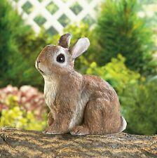 Sitting Baby Bunny Rabbit Outdoor Patio Yard Lawn Garden Statue