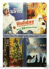 HOLIDAY 5-in-1 Collector's Set DVD MOVIE Dear Santa+The Baby Jesus+MORE 6/7