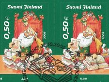 Finland 2005 Used (2) - Christmas - Designed by Mauri Kunnas - First Day Cancel