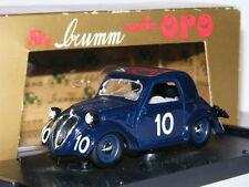 Brumm r47 BIS Fiat 500 Topolino 1937 Mille Miglia #10 LTD ED 1/43
