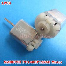 MABUCHI FC140SF12260 DC12V Mini Carbon Brush Motor Car Door Lock Folding Mirror