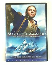 Master And Commander, Far Side of The World Single DVD Russel Crowe Widescreen