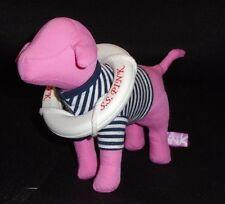 Victoria's Secret VS Pink Pink Small Sailor Stripe Stuffed Plush Dog Lifesaver
