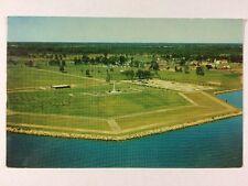 Aerial View of Crysler Memorial Upper Canada Village Ontario Chrome Postcard