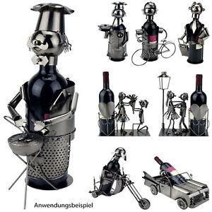 Flaschenhalter Metall Weinflaschenhalter Weinhalter Flaschenständer Geschenk