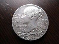 MEDALLA GRAN BRETAÑA UK VICTORIA JUBILEE MEDAL 1837 - 1897 PLATA