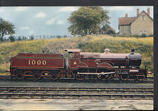 Railways Postcard - Passenger Locomotive No.1000, Midland Railway  RR1437