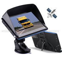 XGODY 7'' Inch GPS Car Truck Navigation Navigator System AU EU Maps Free Updates
