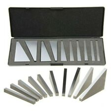 Set Of 10 Precision Angle Blocks 1 To 5 Degrees And 5 To 30 Measurement Blocks