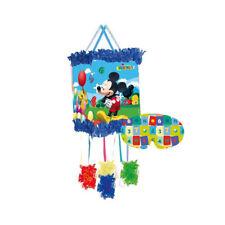 Disney Mickey Mouse Chaîne de Traction Pinata & Bandeaux pour les yeax Enfants
