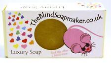The Blind Soap Maker UK Luxury Soap 95g Glycerin Bar Saop Handmade in Durham UK