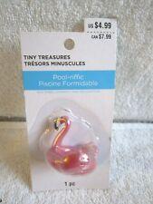 Celebrate It Tiny Treasures Pool-riffic Flamingo Water Floatie Miniature - Nip