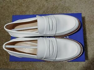 Stuart Weitzman Womens Patent Leather Loafers Size 7 NEW! $129