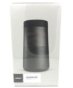 BOSE Soundlink REVOLVE Bluetooth Wireless Portable Speaker (Triple Black) NEW