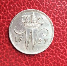 Belgique - Pays-Bas - jolie monnaie de  10 Cents  1827 U