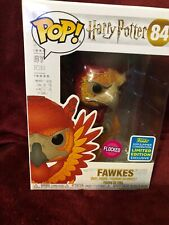 Sdcc 2019 Funko Pop Flocked Fawkes the Phoenix Harry Potter