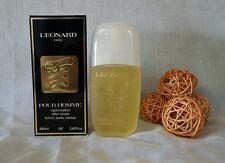 """VINTAGE"" LEONARD Pour uomo after shave lotion 100ml spray, Fuori catalogo rare"