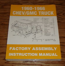 1960-1966 Chevrolet GMC Truck Factory Assembly Instruction Manual 61 62 63 64 65