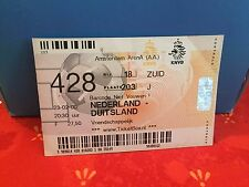Football Ticket -  UEFA - Nederland - Duitsland - Allemagne Germany - 2000