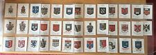 38 RARE WILLS CIGARETTE CARDS COLLECTION ARMS OF BRITISH EMPIRE UNIVERSITIES ETC