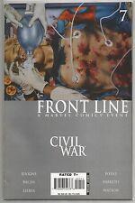Civil War : Front Line #7, Marvel comic book from October 2006