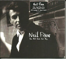 Crowded House NEIL FINN She Will Have her Way 2 UNRELEASED TRX CD single SEALED