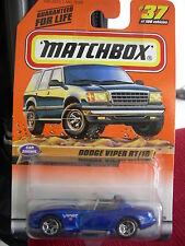 Matchbox Dodge Viper RT/10  #37