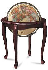 "Replogle Queen Anne World Globe 16"" Antique Ocean. Brand New!"