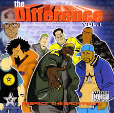 The Difference Vol. 1 by Various Artists  East Coast Rap   12 Tracks