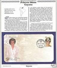 GUYANA # 3234f  PRINCESS DIANA MEMORIAL First Day Cover (0962)