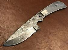 Handmade Pattern Welded Damascus Steel Blank Blade-Knife Making Supplies-B202-5